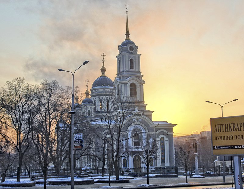 Храм, де в хорі співала Катерина