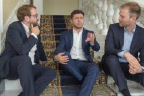 Зеленський: Я скажу Путіну, що Крим і Донбас - це Україна