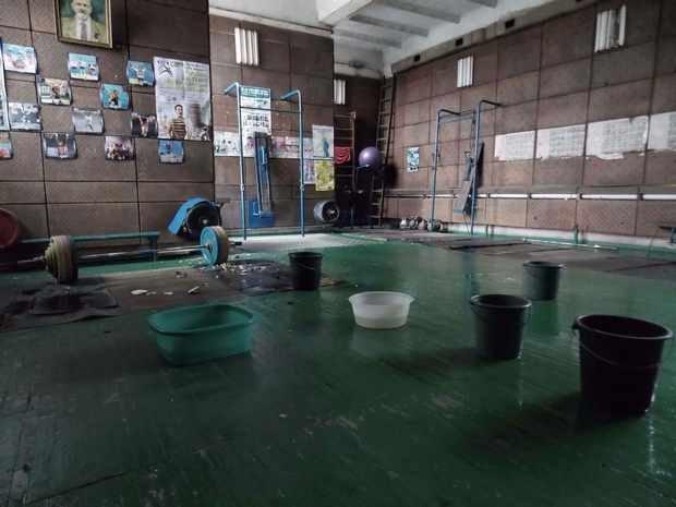 Зал для занятий тяжелой атлетикой, Херсон