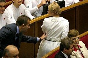Тимошенко заперечує зустріч з Клюєвим