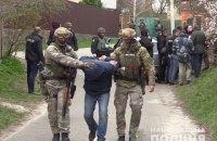 ГПУ: задержанная под Киевом группировка готовила покушение на криминального авторитета, а не на Зеленского