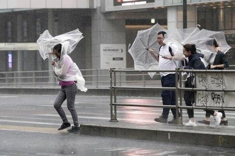 """На Японію обрушився тайфун """"Майсак"""""""