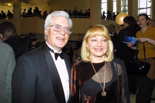 Евгений Жариков с супругой, актрисой Натальей Гвоздиковой