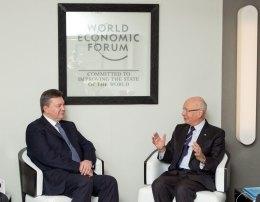 Встреча Януковича со Швабом