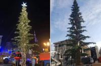 """В Тбилиси потратили 350 тысяч долларов на """"тощую"""" елку"""