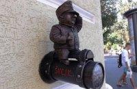 В Одессе пропал мини-памятник солдату Швейку