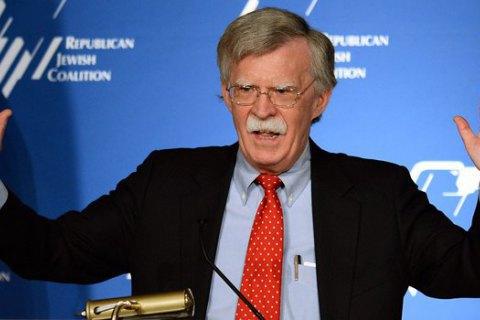 Болтон: Війська США залишаться на півночі Сирії