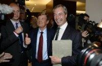 Экс-лидер британских евроскептиков Фараж заявил, что не будет отказываться от пенсии ЕС