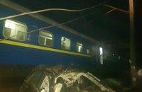 У Кіровоградській області автомобіль злетів з моста і потрапив під поїзд