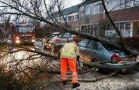 """В Нидерландах бушует шторм """"Белла"""", объявлен желтый уровень опасности"""