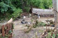 Після злив на Закарпатті безвісти зникла людина