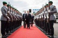 Порошенко прибыл в Берлин на встречу с Меркель