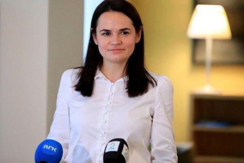 Тихановская намерена посетить Украину после местных выборов