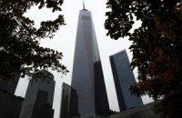 В Нью-Йорке открылась новая башня Всемирного торгового центра