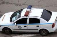 В Днепропетровске водитель «Ланоса» врезался в автомобиль ГАИ