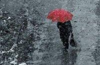 Завтра в Киеве мокрый снег, +1...+3