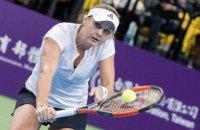 Украинская теннисистка Козлова проиграла в финале своего первого финала WTA