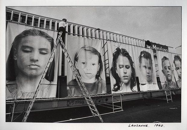 """""""Моя первая фотовыставка в Лозанском фотомузее """"100 фотографов из Восточной Европы"""". Были звёзды, например, Куделка и Михайловский."""""""