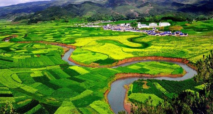 Пахотные земли Китая