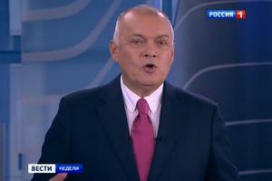 Путін нагородив журналіста Кисельова орденом