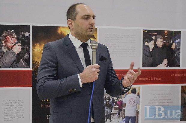 Издатель книги Дмитрий Кириченко