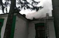 В Винницкой области горела сельская школа