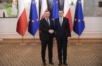 У Польщі прийняв присягу новий уряд з колишніми прем'єром і більшістю міністрів
