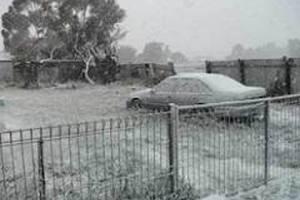Уперше за 40 років в Астралії випав сніг