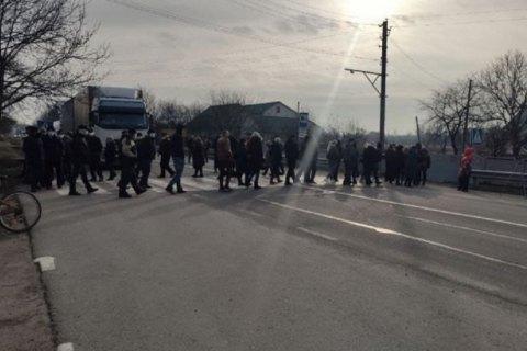 В разных городах Украины люди устроили протесты из-за тарифов на газ