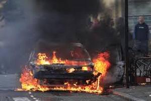 В Берлине продолжаются поджоги автомобилей