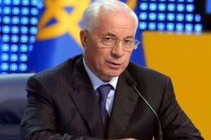 Азаров улетел к президенту Туркменистана