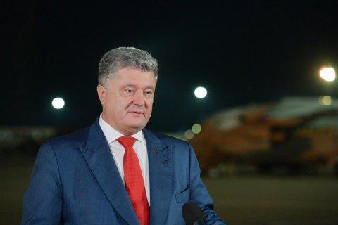 Порошенко: заклики захопити Лавру можуть виходити тільки від московської агентури
