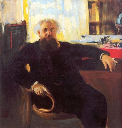 """Олександр Мурашко, """"Портрет Адріана Прахова"""", 1904"""