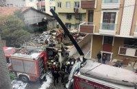 Военный вертолет упал на жилые дома во время учебного полета в Стамбуле