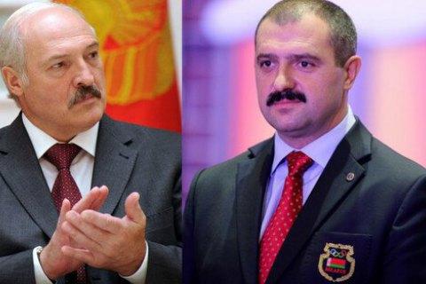 Сын Лукашенко сменил отца во главе НОК Беларуси