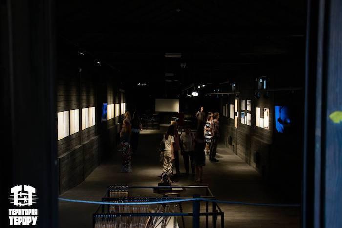 """Експозиція в музеї """"Территорія Терору"""""""