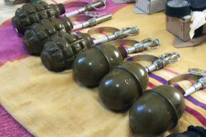 На свалке в центре Киева нашли шесть гранат