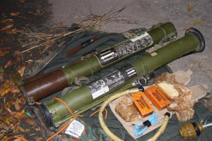 СБУ изъяла арсенал оружия в автомобиле во Львове