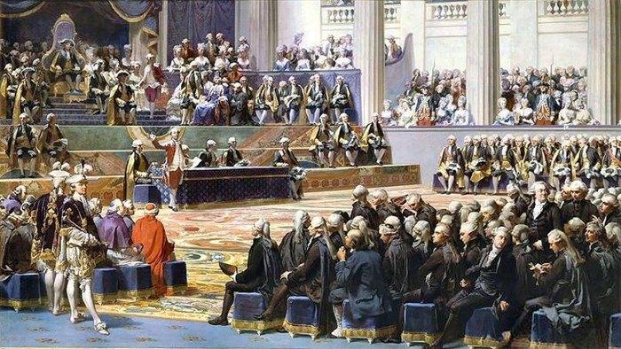 Король Людовик XVI, Генеральные штаты, Версаль, 5 мая 1789 г.