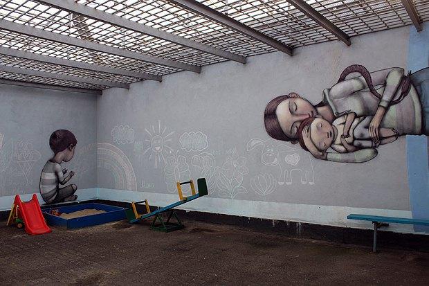 Ігрова зона для ув`язнених мам та їх дітей до 3 років