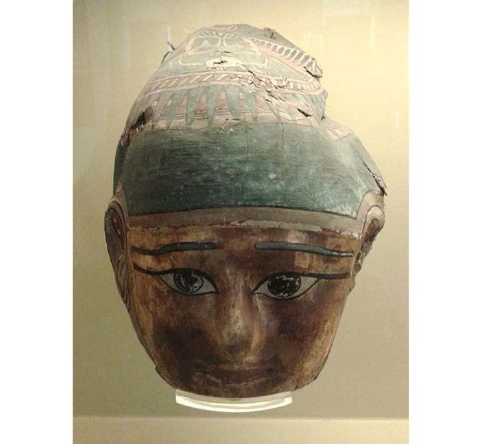 Золотая маска, Египет, эпоха Птолемеев, ок. 304 до н.э.