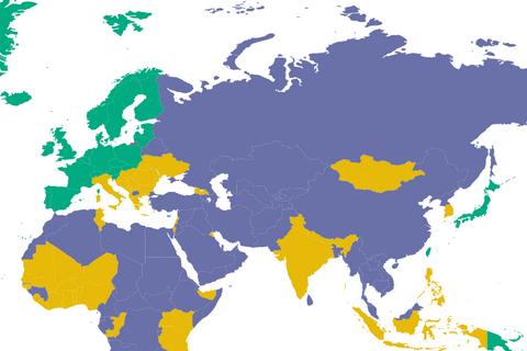 Украина улучшила позиции в рейтинге свободы слова