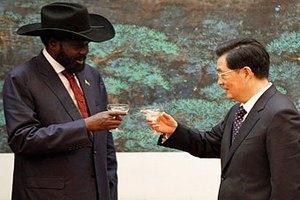 Китай выделит Южному Судану восемь миллиардов долларов