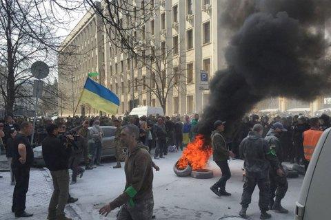 У Брюсселі українська діаспора заблокувала конгрес проросійських пропагандистів
