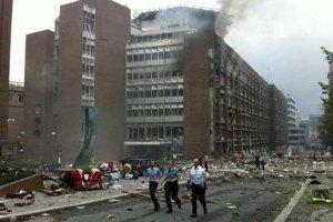 Взрыв в центре Осло признали терактом
