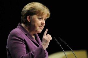 Меркель не нашла на карте столицу Германии