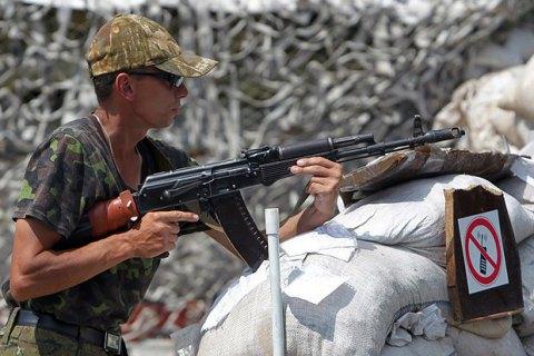Боевики 42 раза открывали огонь по силам АТО на Донбассе