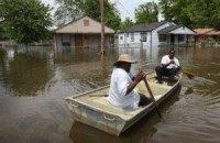 США страдают от разлива Миссисипи