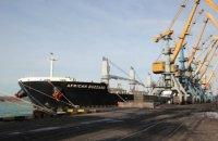 П'яте судно з американським антрацитом прибуло в Україну