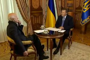 Інтерв'ю Януковича Коротичеві покажуть три канали